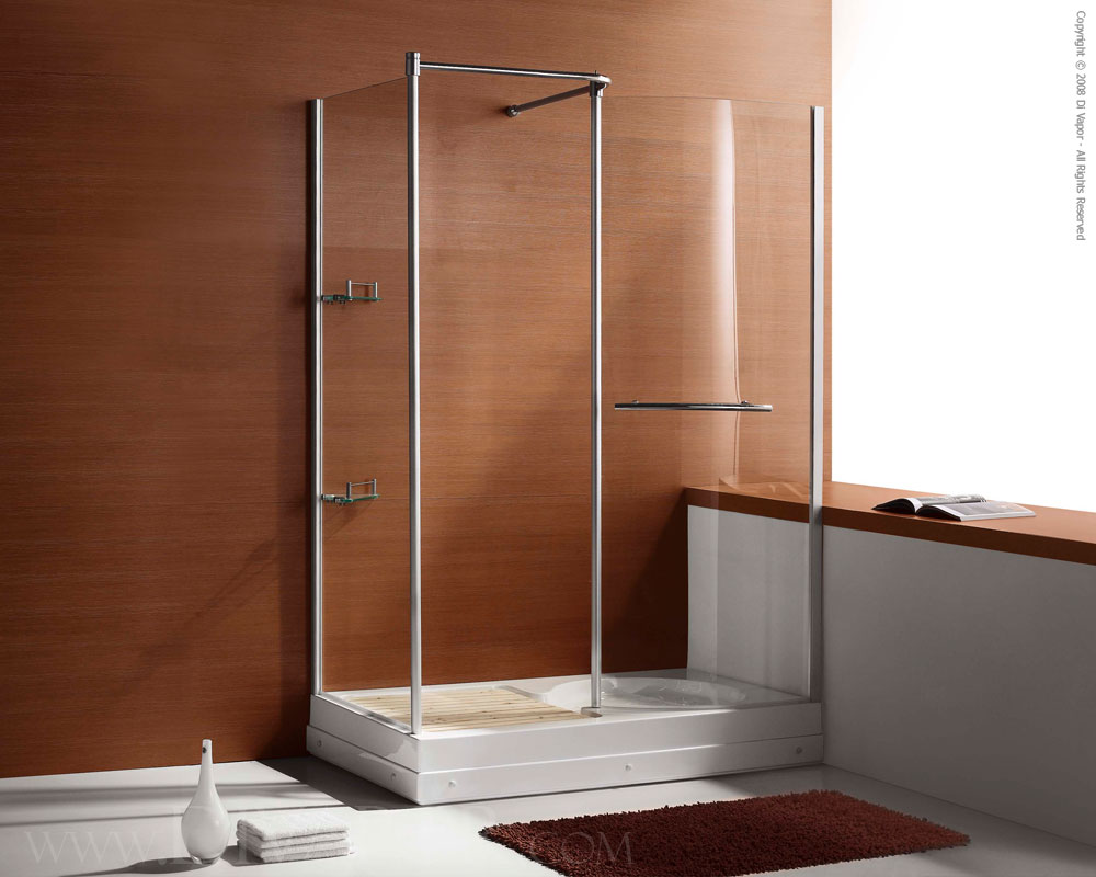 Shower Enclosure | 1420 x 820 Walk In Shower Enclosure (SH-DV009)