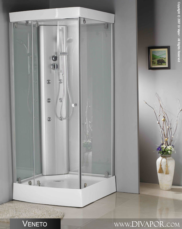 Veneto Shower Cabin, 900mm Square Tray (SH-DV6017)