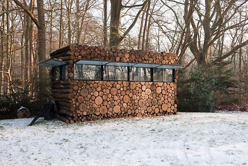 Luxury Log Cabin Office : Luxury outdoor trends for