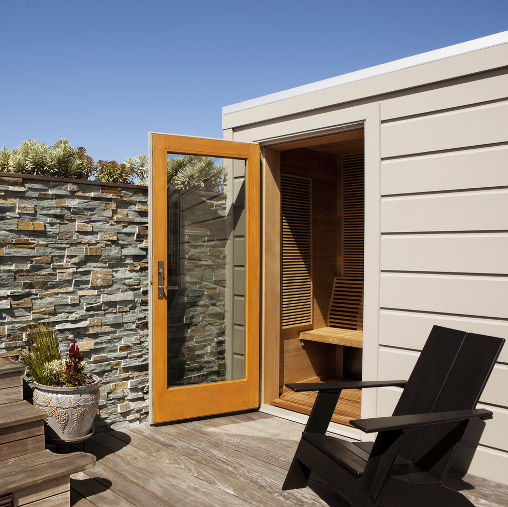 Luxury outdoor trends for 2014 for Sauna home