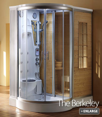 Steam Sauna Unit The Berkeley Steam and Sauna Combination