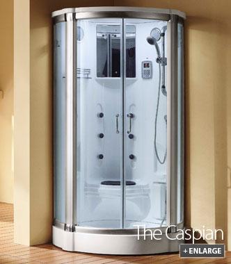 Steam Shower Enclosures | Walk in Steam Enclosure - The Caspian
