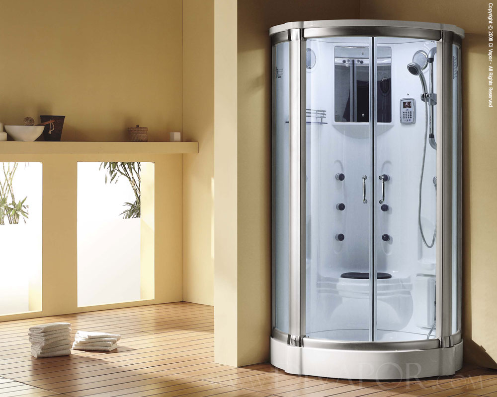 Steam Shower Enclosures Walk In Steam Enclosure The Caspian