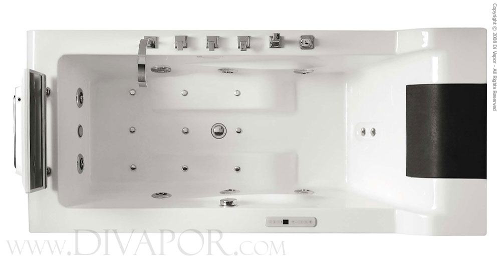 Hydromassage Whirlpool Bathtubs - The Cosmo