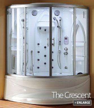 Steam Showers   Crescent