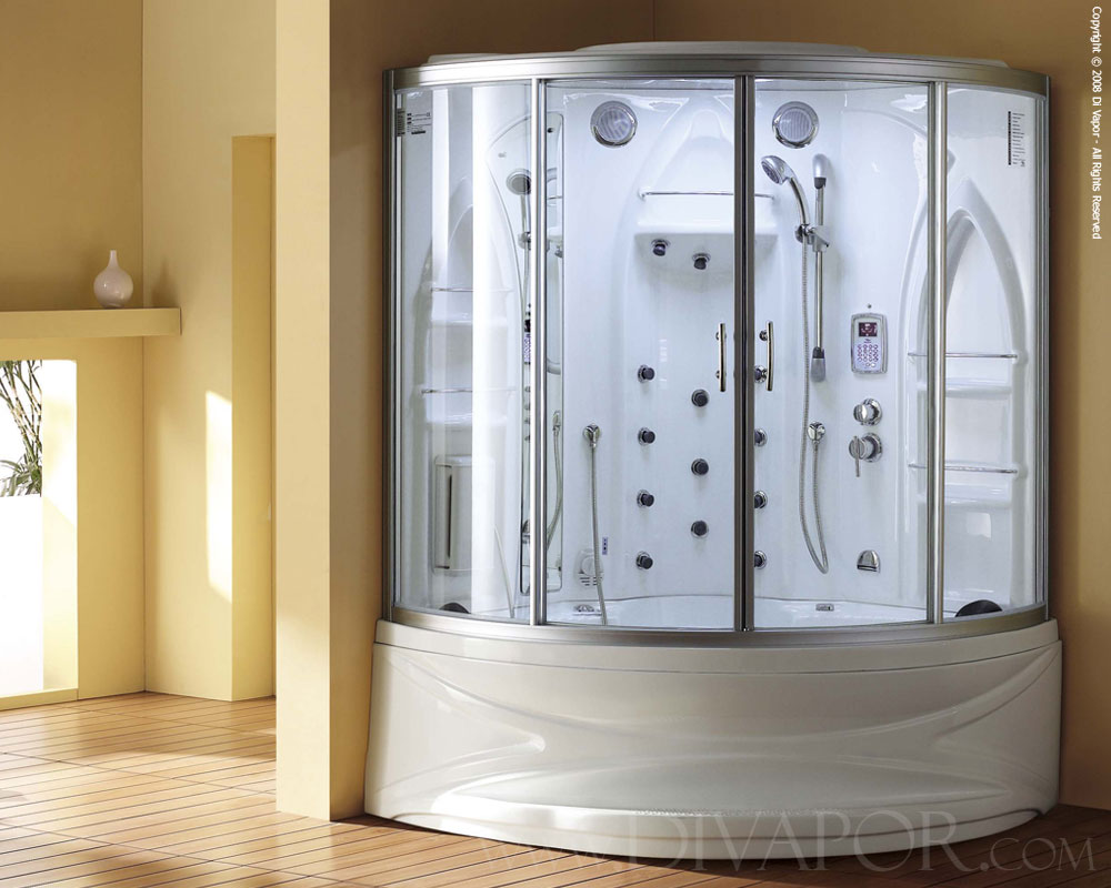 steam bath whirlpool bath the crescent rh divapor com how to create a steam room in your bathroom