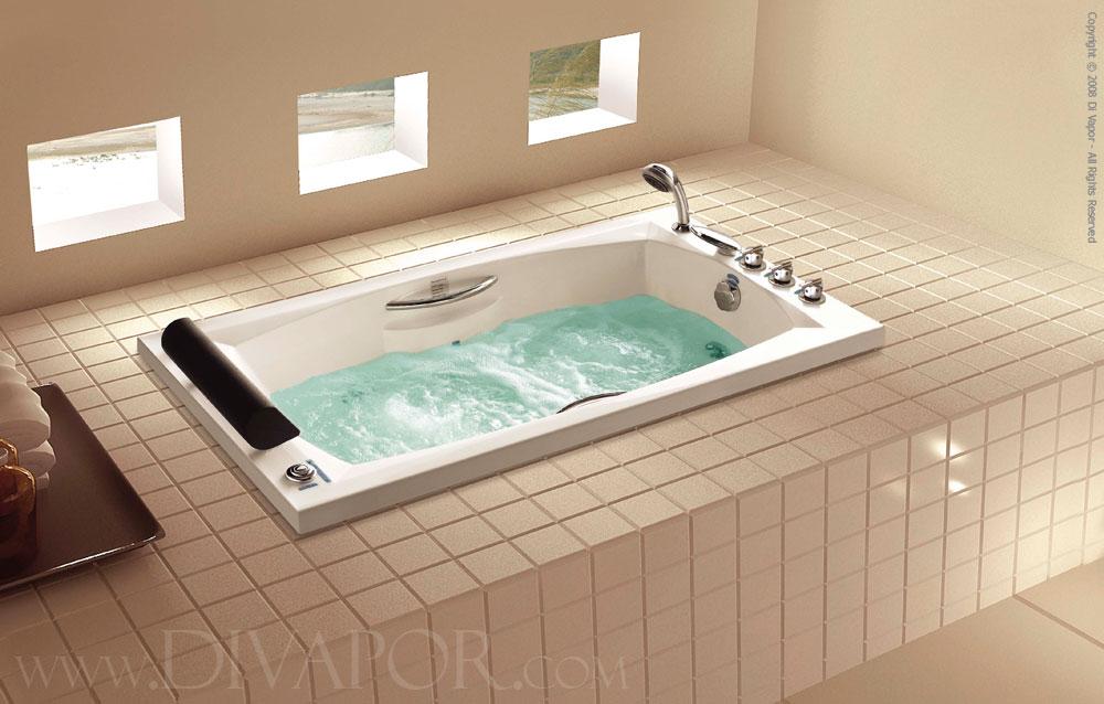 Whirlpool bathtub the genoa for Bathtub in bathroom