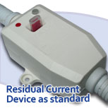 RCD protection for bath