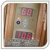 Programmable Sauna Control Panel