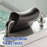 Whirlpool Bath Headrest