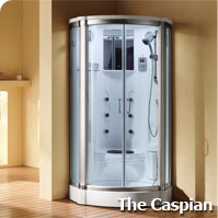 Caspian Steam Shower Enclosure
