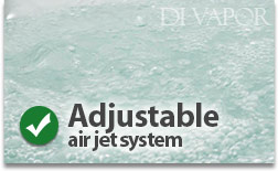 Air Bubble Massage Jets
