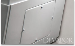 Easy access maintenance panels