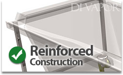 Reinforced Acrylic Construction