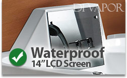 14 inch Waterproof LCD Television Screen
