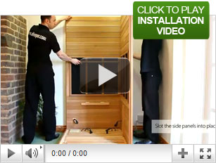Infrared Sauna Installation Video