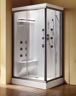 Cascade Duo Steam Shower