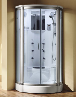 Caspian Steam Shower