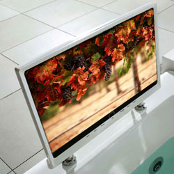 Cosmo Whirlpool TV Bath
