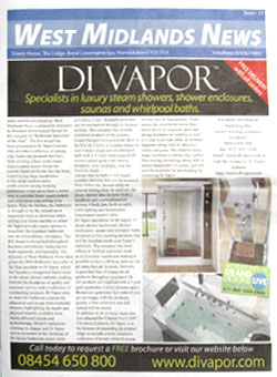 West Midlands News Steam Shower Feature