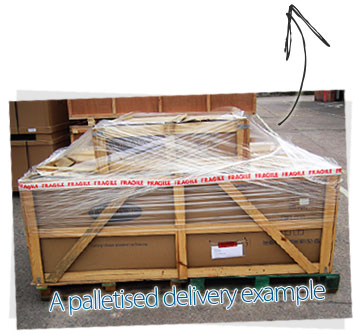 Palletised Delivery