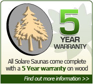 5 Year Infrared Sauna Guarantee