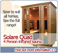 Four person Infrared Sauna