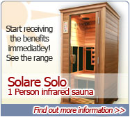Single person Infrared Sauna