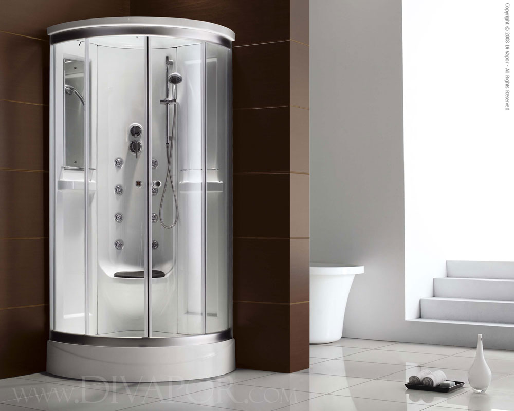 Steam shower cubicle the ivela - Luxury shower cubicles ...