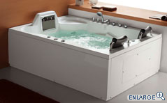 Hydromassage Whirlpool Bathtubs - The Luxor