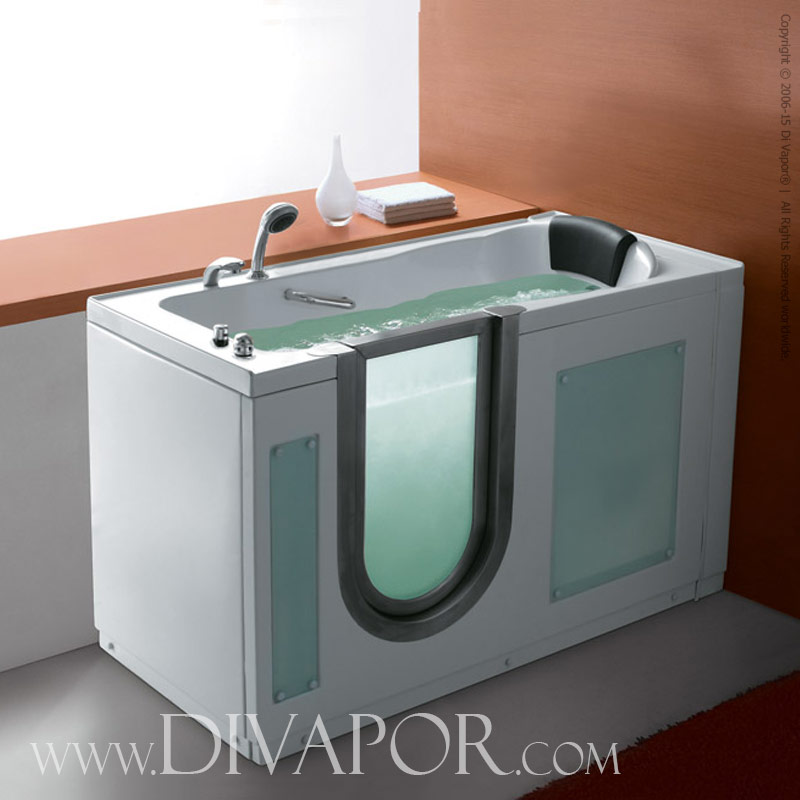 Di Vapor - The Mirano - Walk In Mobility Bathtub - Low Step Entrance