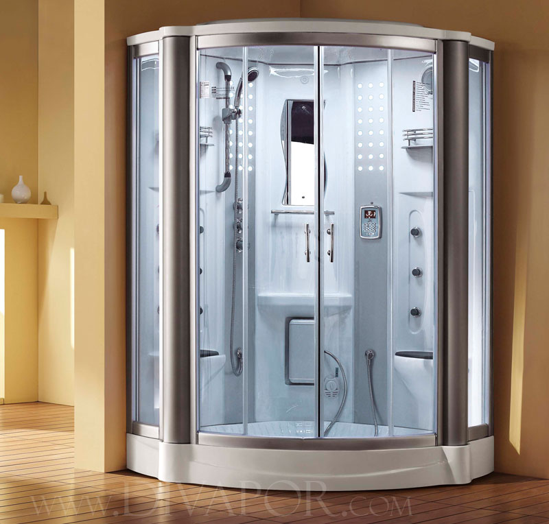 Oxford two person steam room for Build steam shower