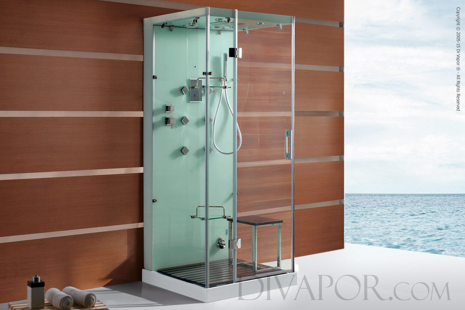 Steam Shower Cabins - The Savona (S-DV6023W)