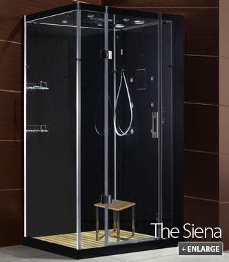 Siena steam shower