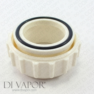 Whirlpool Female Pump Union Connector PVC Pipe Reducer - Adapt 2 inch to 2 1/2 Inch