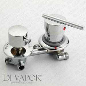 Single Lever Shower Mixer with 4 Way Valve