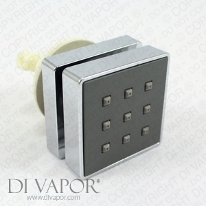 Square Shower Hydromassage Water Body Jet (2-way)