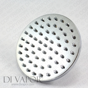 Circular Rose Overhead Shower Head - 15cm (6 inch)