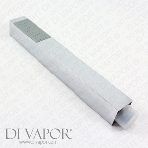 Square Metal Handheld Shower Head - 20cm