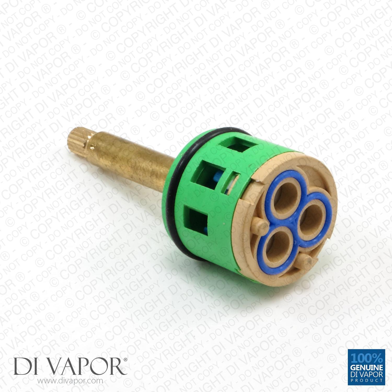 3 Way Shower Valve Flow Diverter Cartridge 82 5mm Total Length