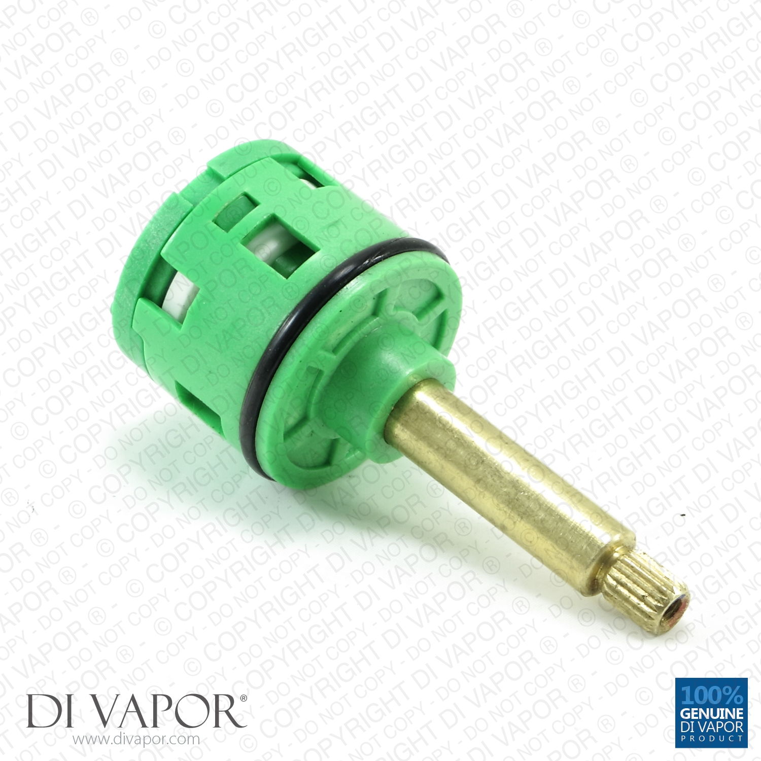 4 Way Diverter Cartridge For Shower Valves 4 Function Selector 35mm Diameter X 86mm Length