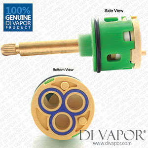 87mm 3-Way Diverter Cartridge 33mm Barrel Diameter with 50mm Spindle