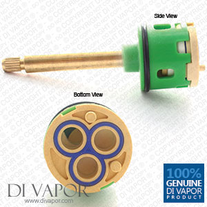 101mm 3-Way Diverter Cartridge 33mm Barrel Diameter with 64mm Spindle