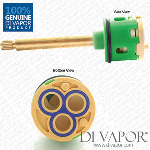 120mm 3-Way Diverter Cartridge 33mm Barrel Diameter with 83mm Spindle