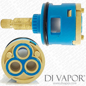 63mm 3 Way Diverter Cartridge 33mm Barrel Diameter with 25mm Spindle 18 Teeth