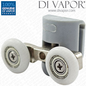 Top Replacement Shower Rollers Double | 22mm/23mm/25mm