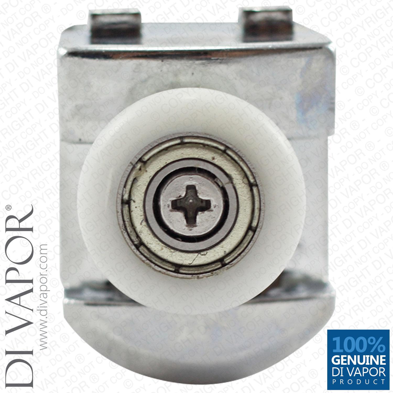 Top Shower Door Roller | 22mm/23mm/25mm Wheel | 22mm