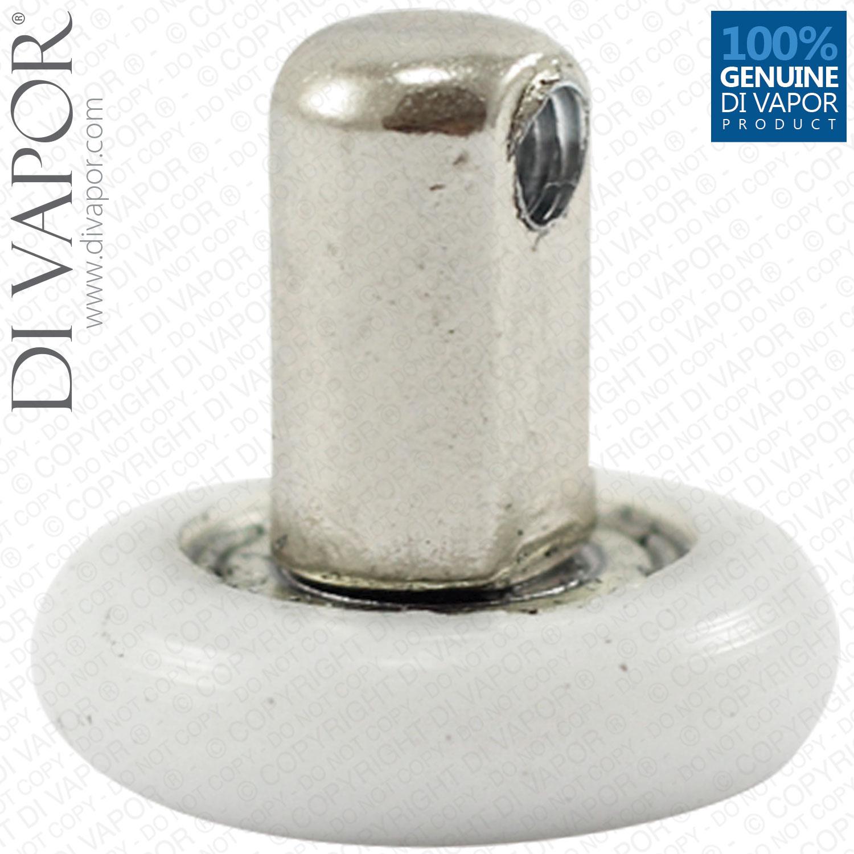 Di Vapor R 22mm 25mm Shower Door Rollers Spares Wheels