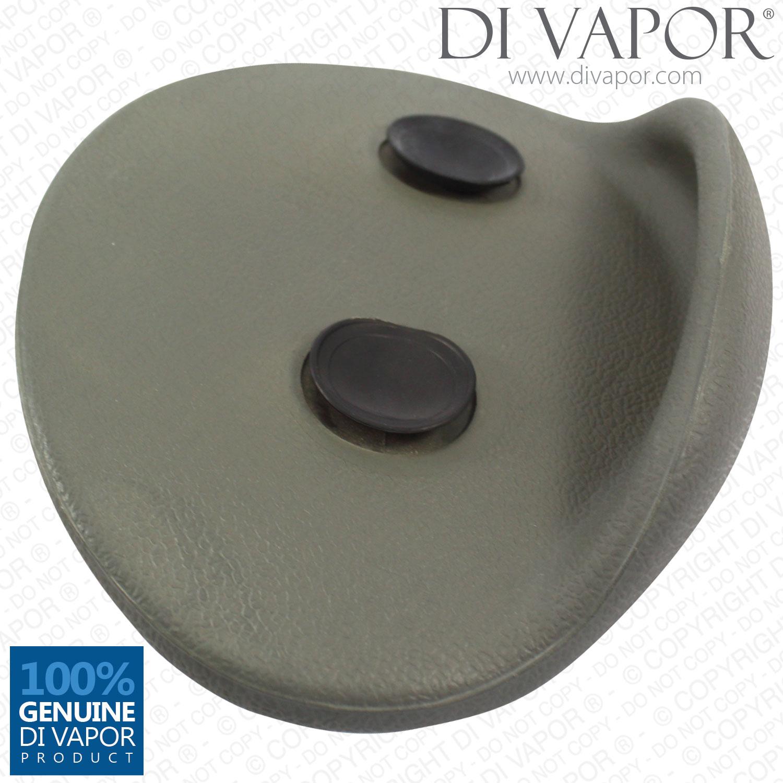 Di Vapor (R) Round Bath Headrest Pillow 25cm Width Universal Fitment ...
