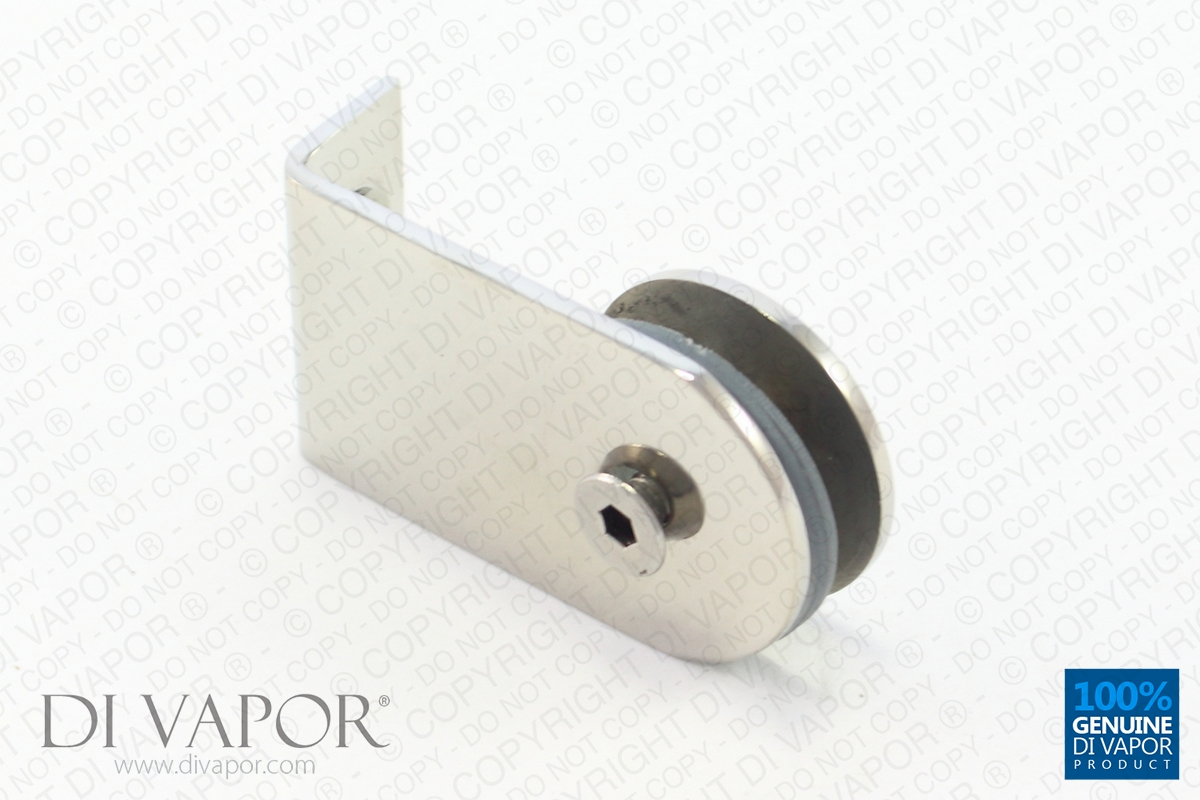 Glass Door Support Hinge Bracket L Shaped Stainless